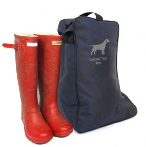 Dog Breed Wellington Boot Bag | Giraffe-Shop.co.uk